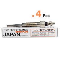 Glow Plug 19850-54040 23V. Fits 1979-83 Toyota 4 Cylinder 24V
