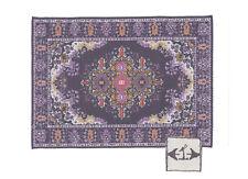 Rug  9S  miniature dollhouse woven fabric carpet 1pc 1/12 scale