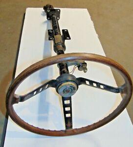 1972 Datsun 240Z  Upper Steering Column  Assembly-Wheel Ignition w/Key-Nice-T2