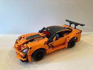 Lego Technic 42093 Chevrolet Corvette ZR1 Vollständig mit Anleitung und OVP