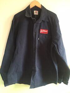 Mens Levi's San Francisco Navy Shirt Size XL