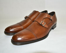New!  To Boot New York 'Medford' Double Monk Strap 11 Cognac Brown Men's  $395