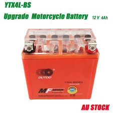 12v YTX4L-BS GEL Battery for KTM 250/300/350/450(2011-2012) 400/520(2000-2002)
