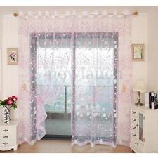 Rideaux et cantonnières violette pour la maison, 100 cm - 150 cm