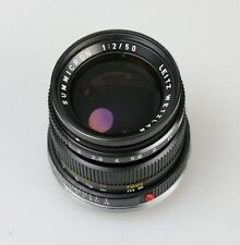Leica summicron-M 50mm 1:2 factice Faux Display Model