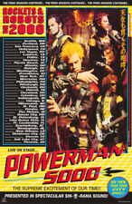 LOT OF 2  POSTERS : MUSIC : POWERMAN 5000 - TOUR 2000 - FREE SHIP  #6204  RC48 G