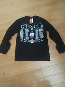 100th Grey Cup long sleeve t shirt Toronto cfl new with tags 2012