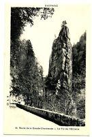 CPA 38 Isère Chartreuse Route de la Grande-Chartreuse Le Pic de l'Oeillette