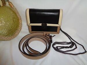 Coach 884 Hutton Natural Color Block Belt Bag Fanny Pack Crossbody Taupe Multi
