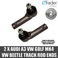 Audi A3 Track Rod Ends Tie Rods Outer Pair 1996 - 2003 1.6 1.8 1.9  Inc Diesel