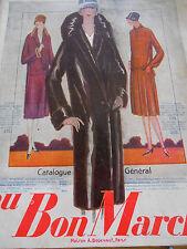 Catalogue au bon marché hiver année 1926 ( ref 14 )