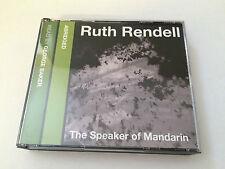RUTH RENDELL - THE SPEAKER OF MANDARIN - AUDIOBOOK CD