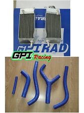 FOR HONDA CR125 CR125R CR 125R 1983 83 Aluminum radiator + hose