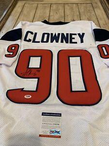 Jadeveon Clowney Houston Texans NFL Original Autographed Jerseys ...
