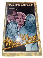 'Peel Me A Grape' Mae West TPB Book, VG - 1975 Great Britain 1st Ed