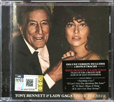 TONY BENNETT & LADY GAGA Cheek To Cheek 2014 MALAYSIA DELUXE CD + 4 BONUS TRACKS