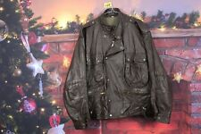 Mens Brown Leather Jacket size M No.Z107 18/12