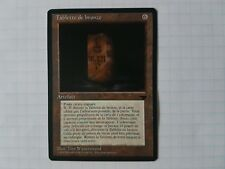 MTG - Antiquities reprint Bronze Tablet in French