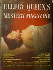 ELLERY QUEEN MYSTERY MAGAZINE 1951 DECEMBER
