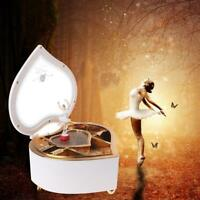 Herzförmige Tänzerin Ballett klassische Spieluhr Tanzen Ballerina Musik