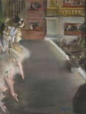 EDGAR DEGAS FRENCH DANCERS OLD OPERA HOUSE OLD ART PAINTING POSTER BB5208A