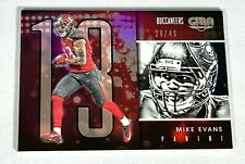 Mike Evans 2016 Panini Gala #67 Base /49 Tampa Bay Buccaneers