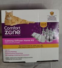 New listing Comfort Zone Calming Diffuser Value Kit (3 Diffusers; 6 Refills) For Cats And K