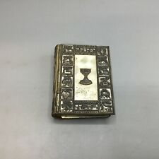 Jewish Prayer Book w/ Metal Cover and Rhinestones