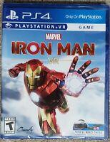 Marvel's Iron Man VR PlayStation 4 PS4 New!
