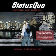 STATUS QUO - THE PARTY AIN'T OVER YET (EXPANDED+BONUSTRACKS)  2 CD NEUF