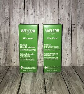 (2 Pack) New Weleda Skin Food Original Ultra-Rich Cream (2.5oz)