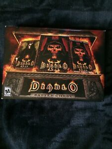 DIABLO II BATTLE CHEST - PC Windows & MAC -Lord Of Destruction Expansion No Game