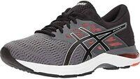 ASICS Gel Flux 5 Mens Carbon/Black/Tomato Synthetic/Mesh Running Shoes US 9 D(M)