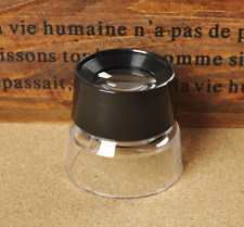 Cylinder Loupe 10X Magnifying Glass Acrylic Optical HD Magnifying Glass