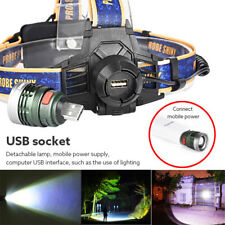 80000Lm XM-L T6 LED Headlamp Headlight Flashlight Head Light Lamp 18650
