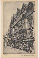 London, Old Houses Holborn, Tuck Art Postcard B896