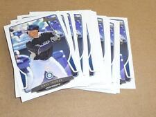 2013 Bowman BASE PAPER RAUL IBANEZ LOT OF 25 SEATTLE MARINERS #62