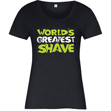 Blood Cancer Awareness T-Shirt, World's Greatest Shave week Ladies Top