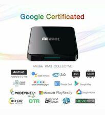 MECOOL KM3 Android 9.0 TV Box 4GB 64GB S905X2 4K Dual WiFi BT4.0 Media Player