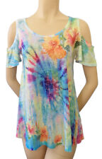 Tie Dye Feel Hibiscus Soft n light weight Sublimation All Over Print OST342