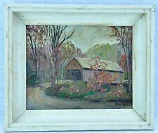 """Peter Koster (Massachusetts, 1891 - 1978) """"Covered Bridge""""(BI#MK/170819)"""
