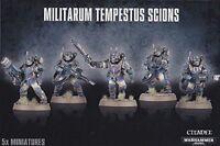 Militarum Tempestus Scions Warhammer 40K NIB Flipside
