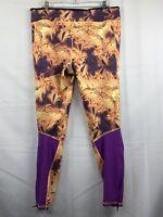 "Adidas Climalite ""supernova"" Women Active Purple Mesh Leggings Size US XL"