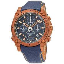 Bulova Precisionist Chronograph Quartz Blue Dial Men's Watch 97B186