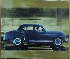 Älteres Blechschild  Oldtimer Mercedes Ponton  gebraucht used