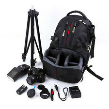 Rucksack Camera DSLR SLR Backpack Bag Case LARGE For Nikon Sony Canon 31*49*15cm