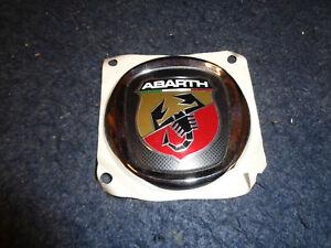 ABARTH FIAT GRANDE PUNTO ORIGINALE 85mm ADESIVO STEMMA FREGIO ORIGINALE -L2- ZZ