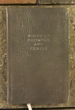 Words of Promise and Praise: From Genesis to Revelation Gray Bonded Leather 1989