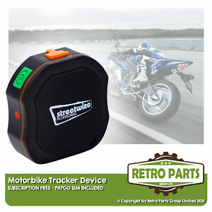 Motorbike Tracker For Lexmoto. Easy Install Anti-Theft Protect Alarm