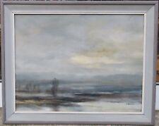 Skarzynski Andrzej Polen *1952 Gemälde Landschaft im Nebel